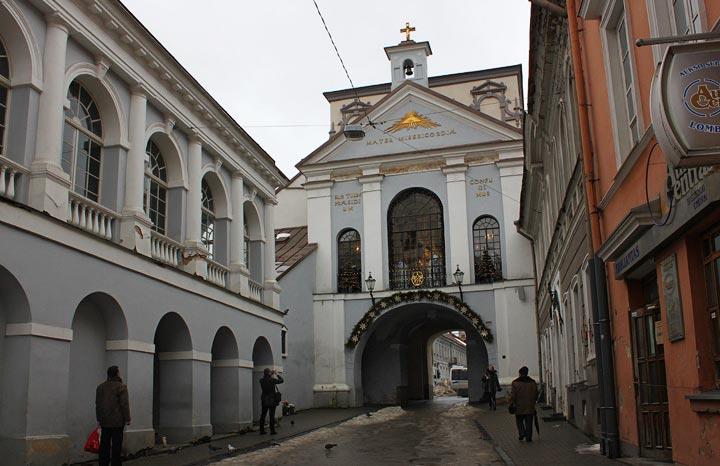 Достопримечательности Вильнюса: Острая брама