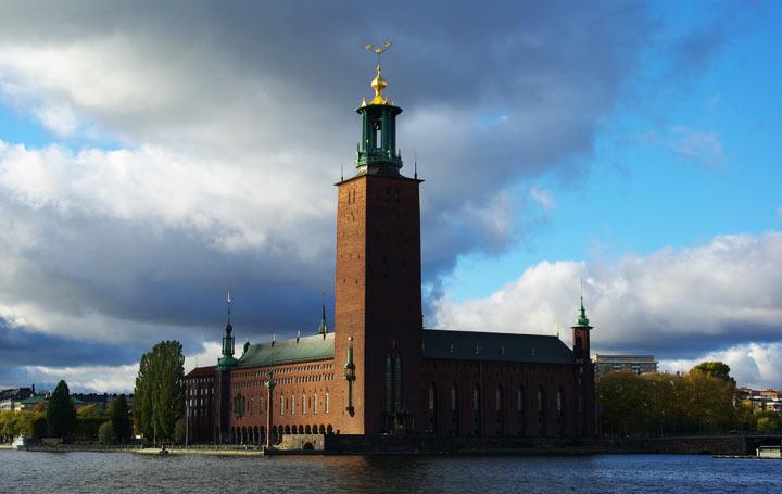 Что посмотреть в Стокгольме: ратуша