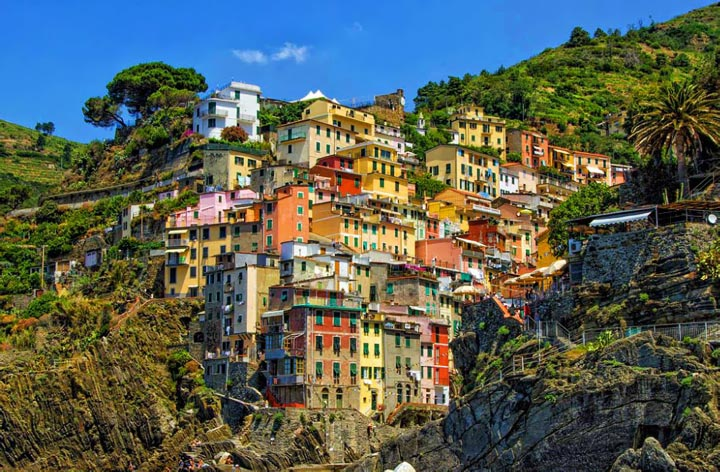 Чинкве-Терре. Италия. Фото