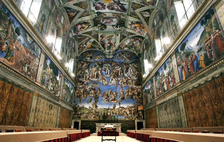 Достопримечательности Рима: Сикстинская капелла