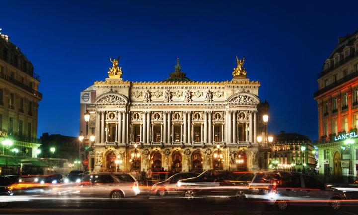 Достопримечательности Парижа - Гранд-Опера