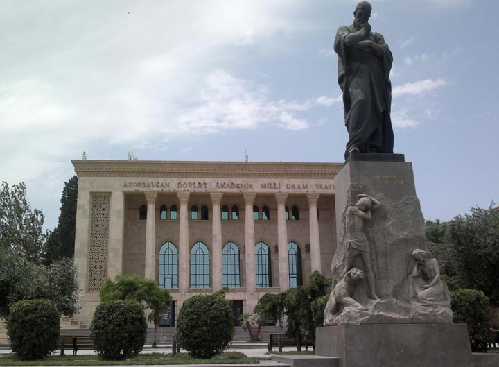 Достопримечательности Баку. Фото