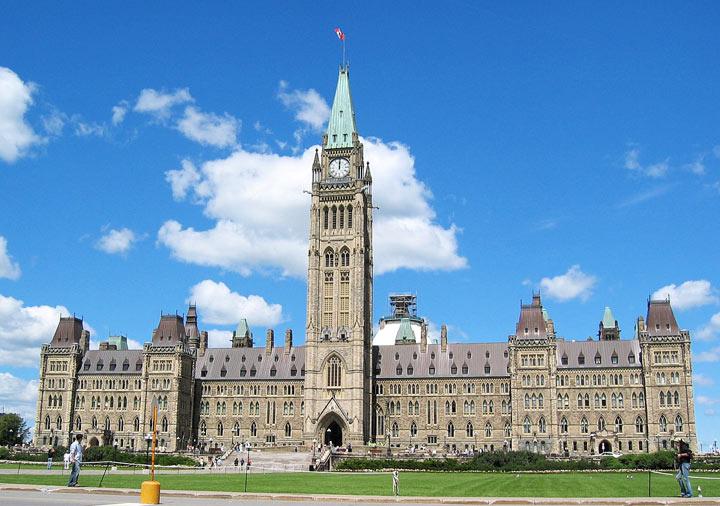 Достопримечательности Канады: Парламентский холм