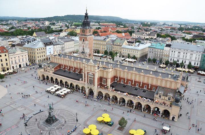 Достопримечательности Кракова: Рыночная площадь