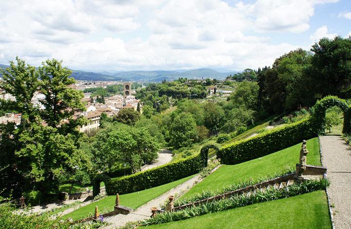 Достопримечательность Флоренции: Сады Боболи
