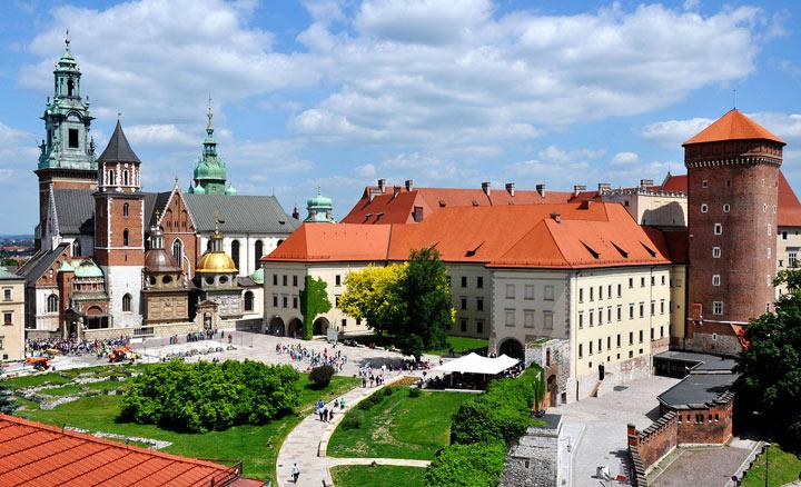 Достопримечательности Кракова: Замок Вавель