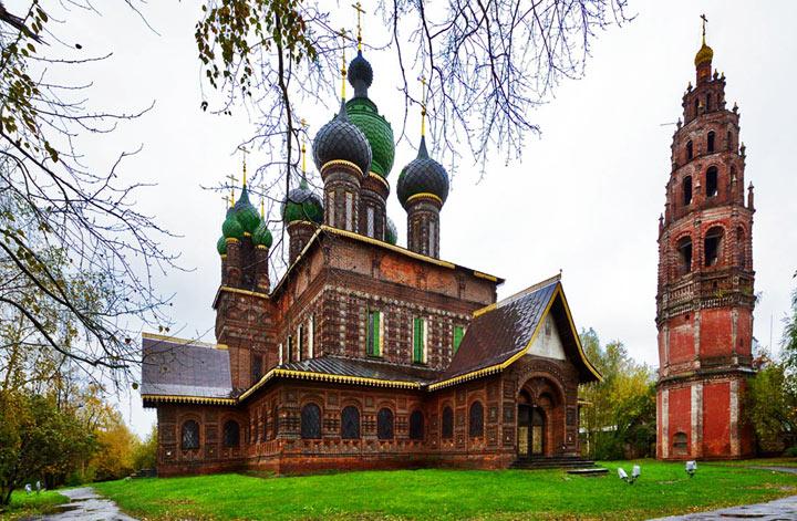 Основные достопримечательности Ярославля: Церковь Иоанна Предтечи