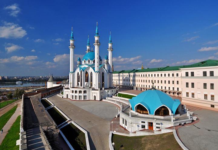 Самые красивые места в Казани: Мечеть Кул-Шариф