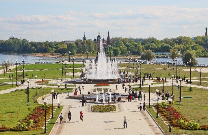 Достопримечательности Ярославля: Парк Тысячелетия Ярославля