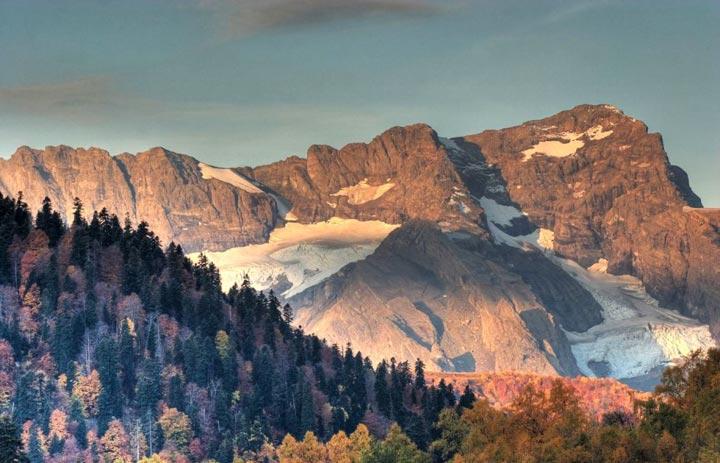 Красота гор краснодарского края фото