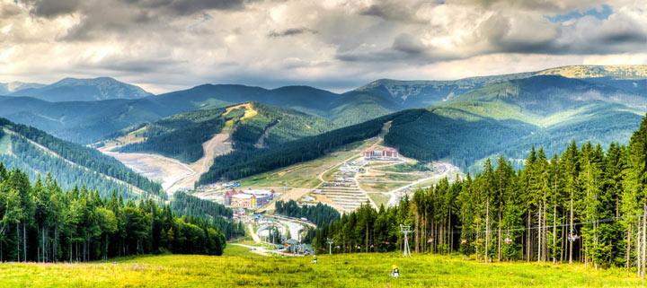 Лучшее место для отдыха в Украине: Буковель