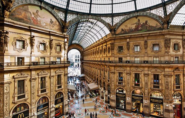 Главные туристические направления в Милане
