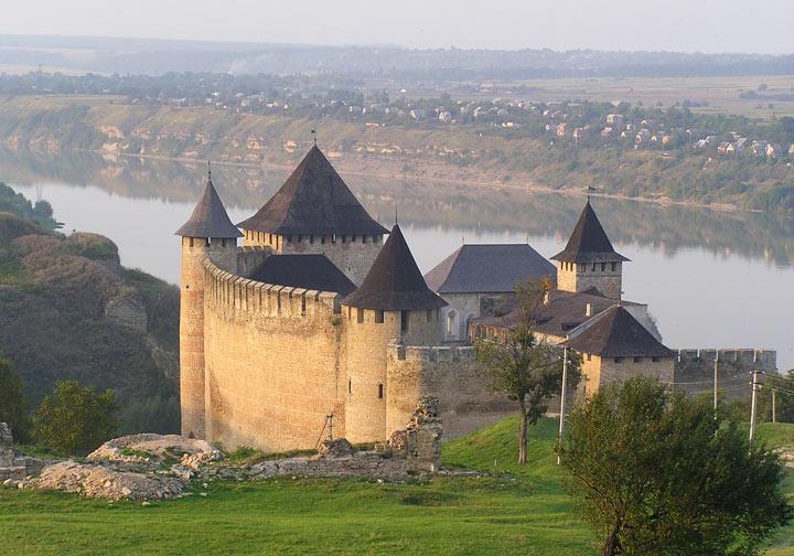 Красивые места Украины: Хотин