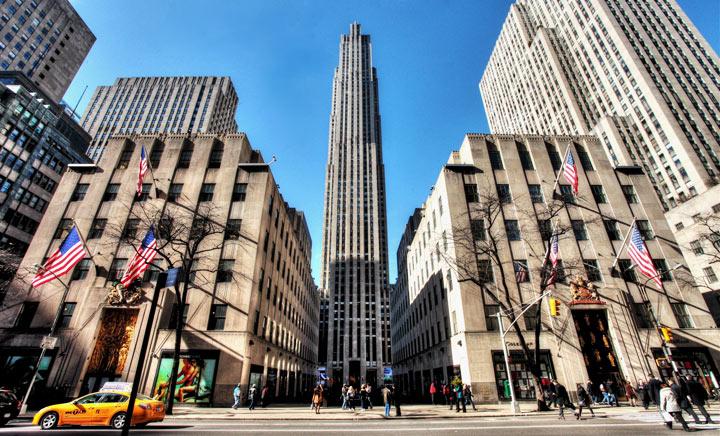 достопримечательности города Нью-Йорка