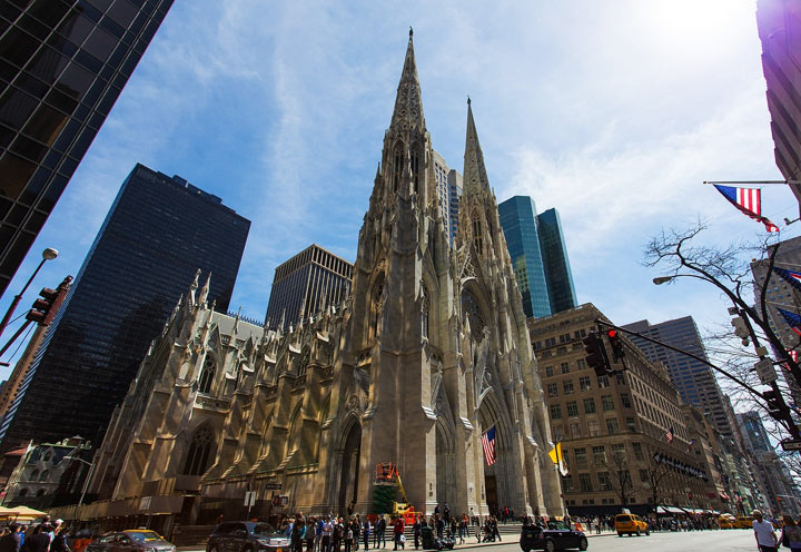 Что посмотреть в Нью-Йорке: Собор Святого Патрика