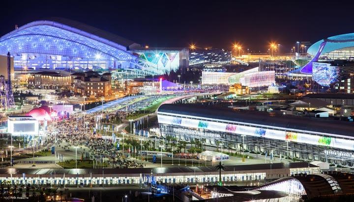 Куда сходить в Сочи: Олимпийский парк