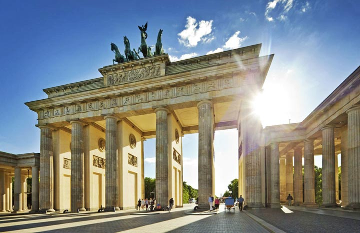 Достопримечательности Германии: Бранденбургские ворота
