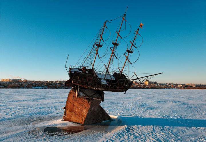 Куда стоит сходить в Воронеже: Макет корабля Меркурий