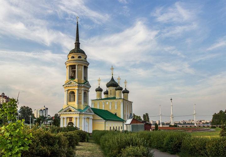 Успенская адмиралтейская церковь Воронежа