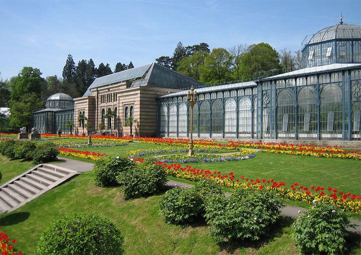 Главные достопримечательности Штутгарта: ботанический сад Вильгельма