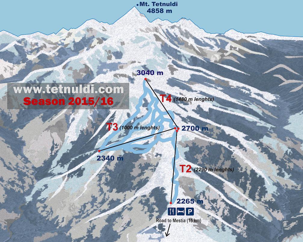 Лучшие горнолыжные курорты Грузии - ТОП 5