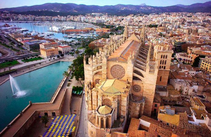 Самые крупные города Испании