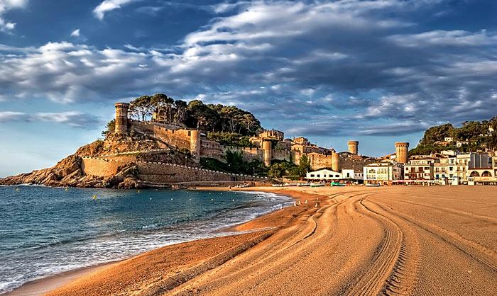испания замки и крепости
