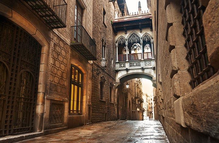 Самые красивые места Барселоны