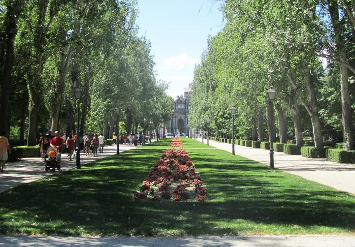Парк Ретиро. Мадрид