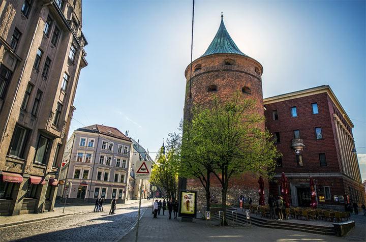 Достопримечательности Риги: Пороховая башня