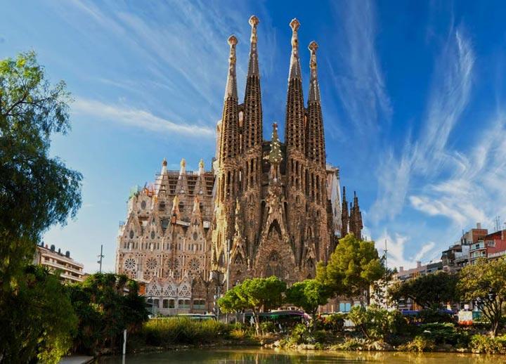 Красивые места Барселоны