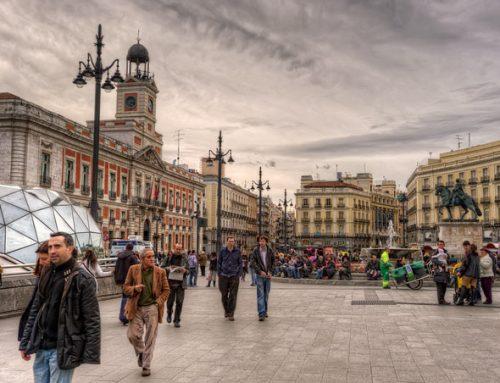 Площадь Пуэрта-дель-Соль. Мадрид