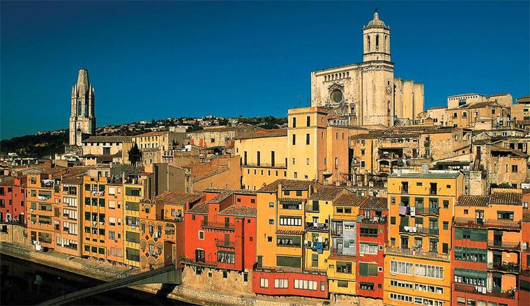 Город Жирона (Испания)