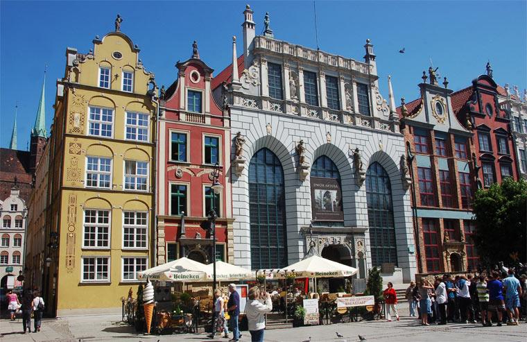 Достопримечательности Польши: Двор Артуса