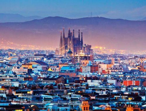 Барселона — красивый город в Испании