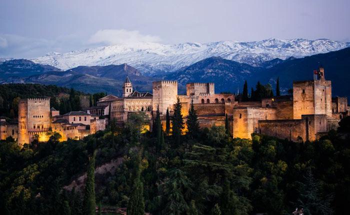 Достопримечательности Испании: Альгамбра
