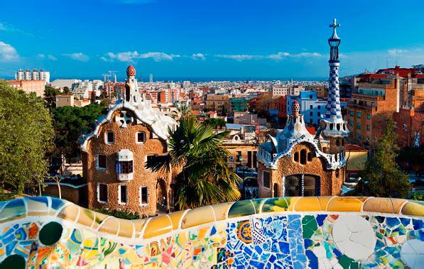 Главные достопримечательности Испании: парк Гуэль