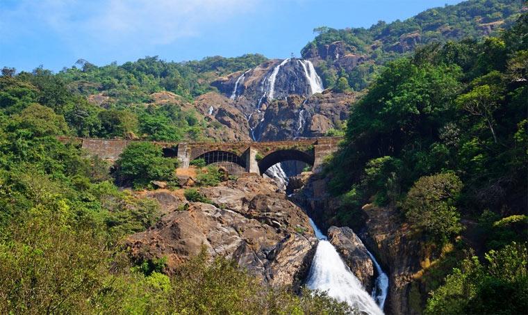 Что посмотреть в Индии: водопад