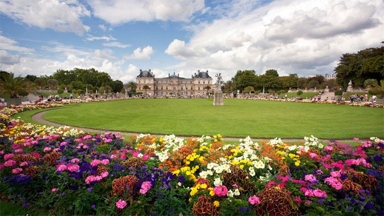 Франция: достопримечательности. Люксембургский сад