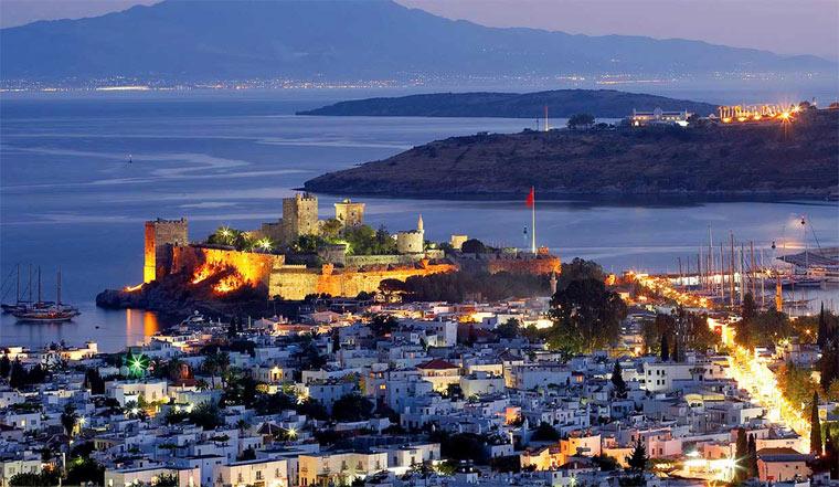 Красивая достопримечательность Турции