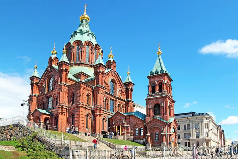 Достопримечательности Финляндии: Успенский собор