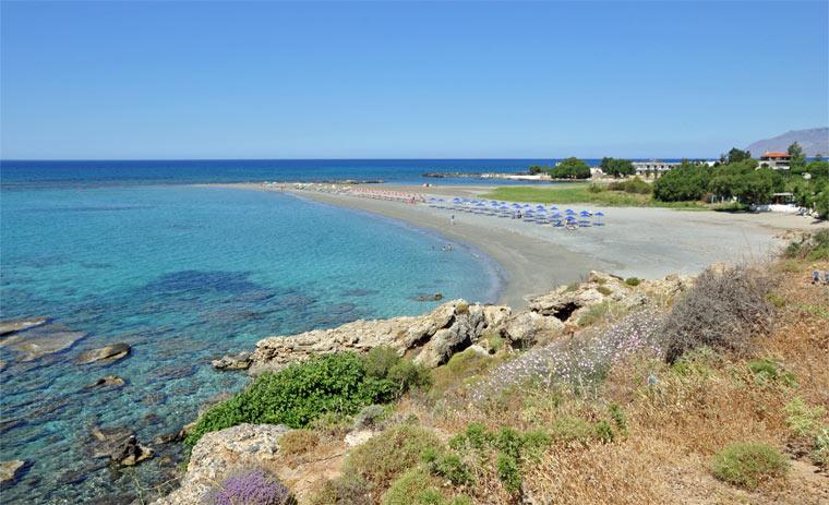 Один из лучших пляжей Крита