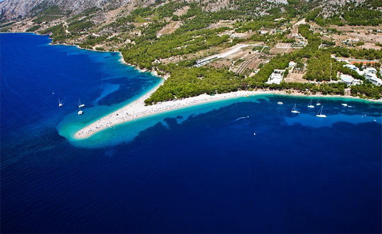 лучшие курорты Хорватии - Брач
