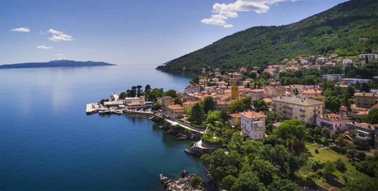Курорт Ловран в Хорватии
