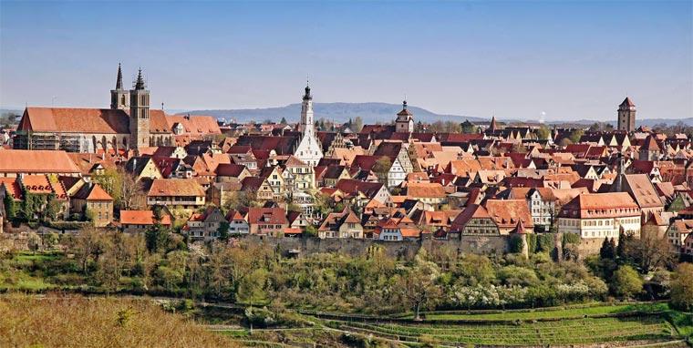 Самые красивые города Германии