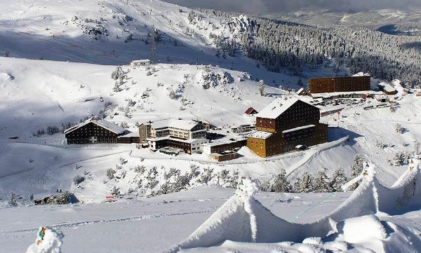 Лучшие горнолыжные курорты Турции