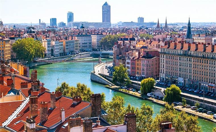 Красивые города Франции: Лион