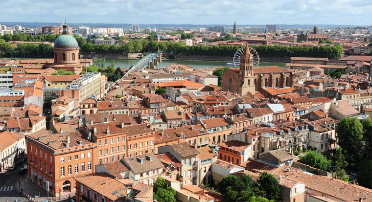 Самые красивые города Франции: Тулуза