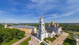 Успенский собор во Владимире — шедевр древнерусского зодчества