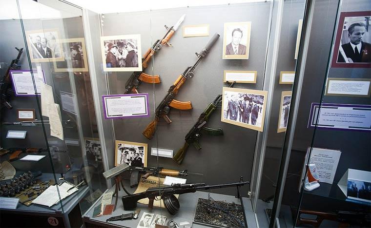 Достопримечательности Ижевска: музей Калашникова